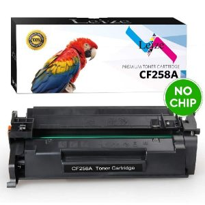 Leize (NO CHIP) Compatible HP 58A CF258A CF258X Toner Cartridge 1-Pack, High Yield Black 3,000 Pages use for HP Laserjet Pro M404n M404dn M404dw MFP M428fdn M428fdw Series