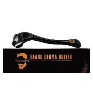 Beard Derma Roller for Beard Growth & Care - Derma Roller for Men - Roller for Home Use - YOOBEAUL Beard Growth Kit Refill