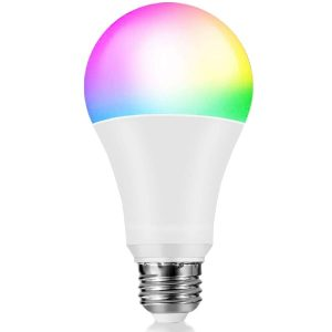 Smart LED Light Bulb, Chihope 10W WiFi Color Changing Bulbs That Work with Alexa, Echo, Google Home, Siri, Samsung IFTTT (No Hub Required), A21 E26 100W Equivalent RGB Multicolor 2700-6500K, 1050LM