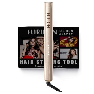 Hair Straightener, FURIDEN 2 in 1 Hair Straightener, Hair Straightener and Curler, Professional Hair Straightener Flat Iron
